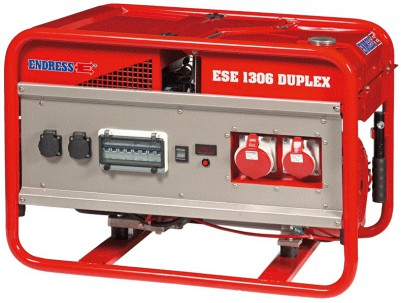 Бензиновый генератор Endress ESE 1306 DSG-GT ES Duplex с АВР