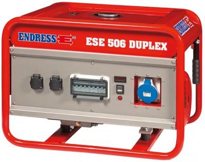 Бензиновый генератор Endress ESE 506 HG-GT Duplex Honda