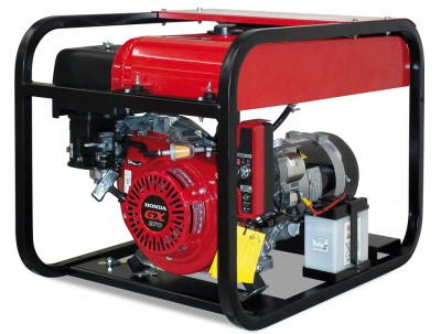 Бензиновый генератор Gesan G 8000 H L Электростартер