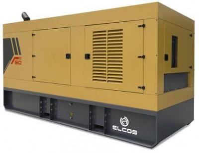 Дизельный генератор Elcos GE.PK.550/500.SS