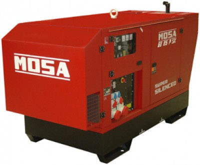 Дизельный генератор Mosa GE 85 JSX EAS
