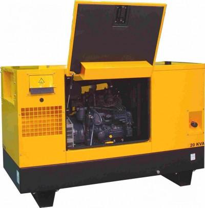 Дизельный генератор Gesan DPAS 15 E MF