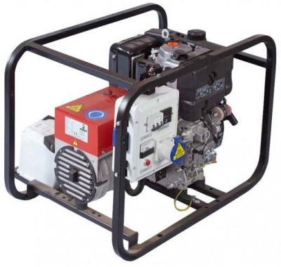 Дизельный генератор Gesan L 4 MF электростартер