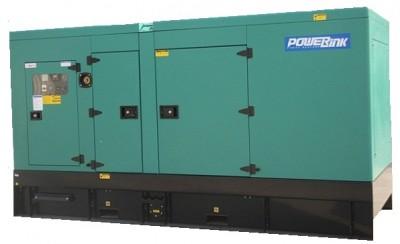 Дизельный генератор Power Link GMS100PXS в кожухе с АВР