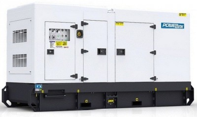 Дизельный генератор Power Link GMS450CS в кожухе с АВР
