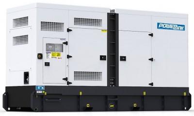 Дизельный генератор Power Link GMS500CS в кожухе с АВР