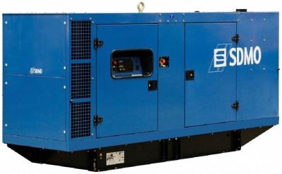 Дизельный генератор SDMO J250K в кожухе