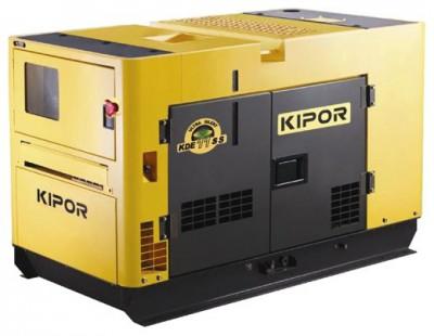 Дизельный генератор Kipor KDE120SS3 с АВР