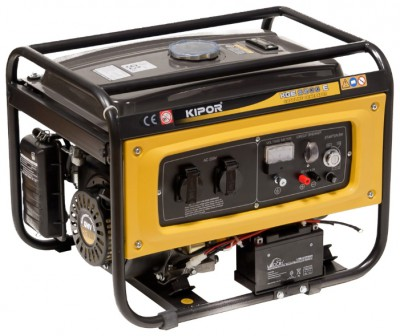 Бензиновый генератор Kipor KGE2500E с АВР