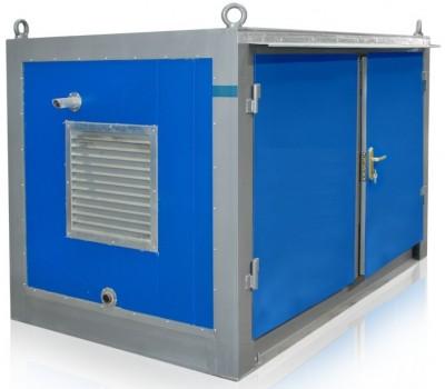 Дизельный генератор SDMO T 12HK в блок-контейнере ПБК 2 с АВР