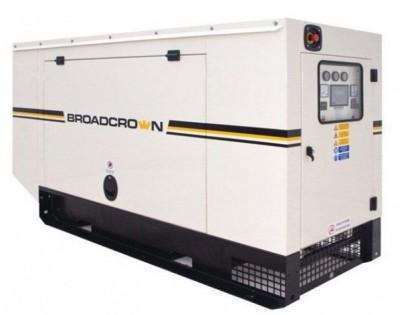 Дизельный генератор Broadcrown BC V550 в кожухе с АВР