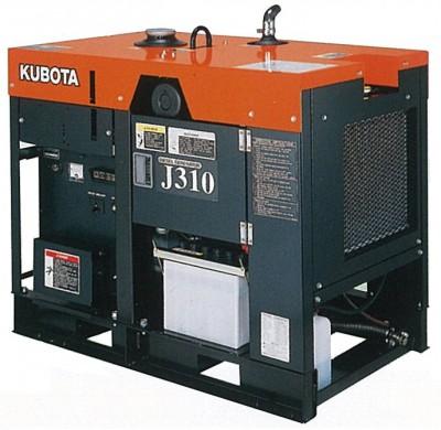 Дизельный генератор Kubota J 310 с АВР