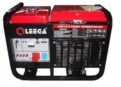 Дизельный генератор Leega LDG12 E 3 фазы с АВР
