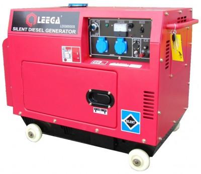 Бензиновый генератор Leega LT 6500S