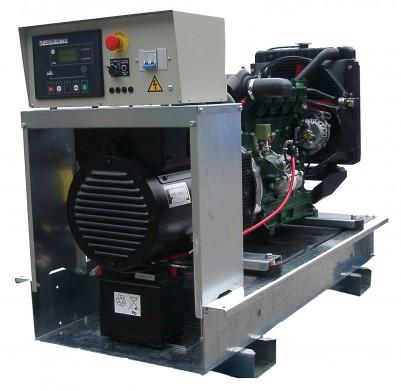 Дизельный генератор Lister Petter LWA 27/LLD 250 с АВР