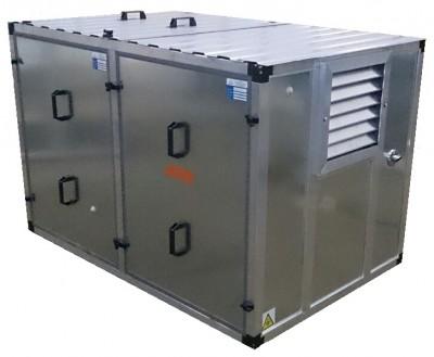 Бензиновый генератор Mitsui Power ZM 10000 E в контейнере с АВР