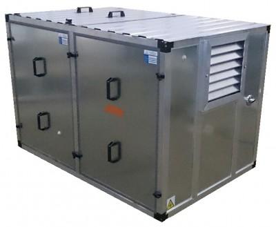 Бензиновый генератор Gesan G 12000 H L в контейнере с АВР