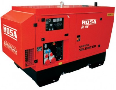 Дизельный генератор Mosa GE 125 JSX EAS