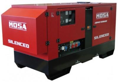 Дизельный генератор Mosa GE 115 PSX EAS