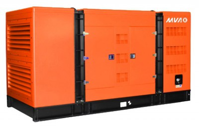 Дизельный генератор MVAE АД-80-400-С в кожухе с АВР