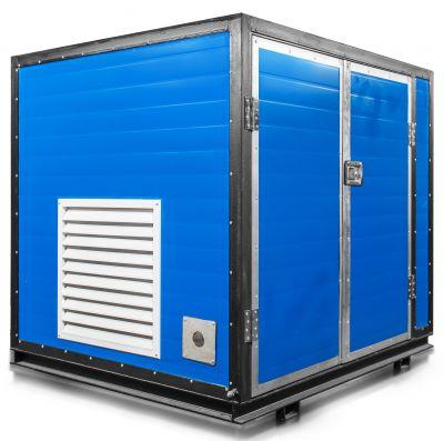 Бензиновый генератор Mitsui Power ZM 9500 E в контейнере с АВР