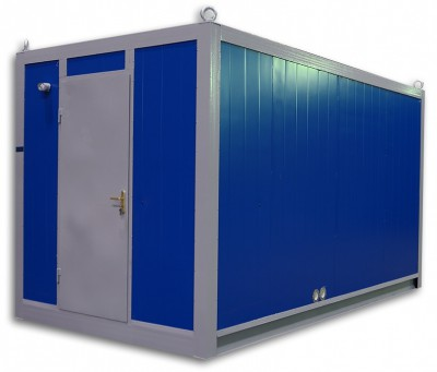 Дизельный генератор Elcos GE.MT3A.305/275.BF в контейнере с АВР