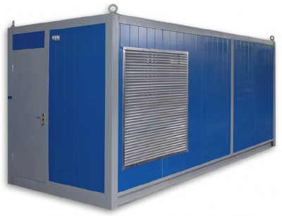 Дизельный генератор Cummins C550D5e в контейнере