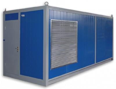 Дизельный генератор Cummins C700D5 в контейнере с АВР