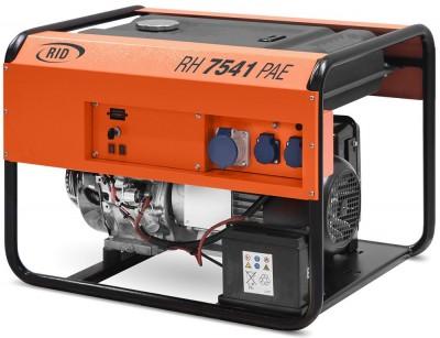Бензиновый генератор RID RH 7540 PAE с АВР