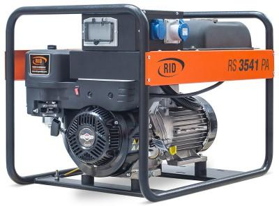 Бензиновый генератор RID RS 3541 PAE с АВР