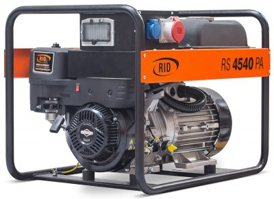 Бензиновый генератор RID RS 4540 PAE