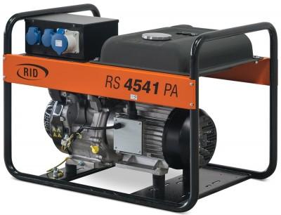 Бензиновый генератор RID RS 4541 PAE с АВР