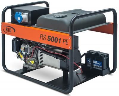 Бензиновый генератор RID RS 5001 PE с АВР