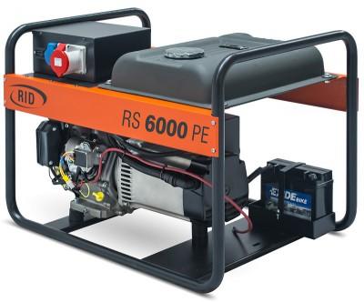 Бензиновый генератор RID RS 6000 PE с АВР