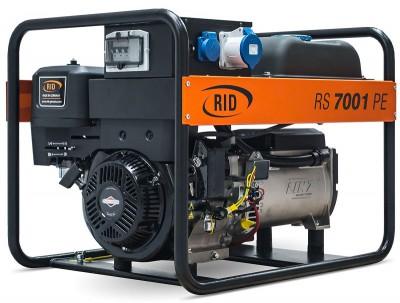 Бензиновый генератор RID RS 7000 PE с АВР