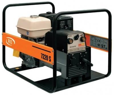 Бензиновый генератор RID RS 7220 SE