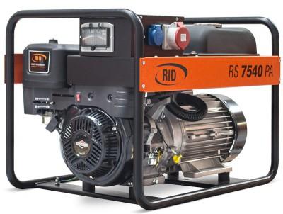 Бензиновый генератор RID RS 7540 PAE с АВР