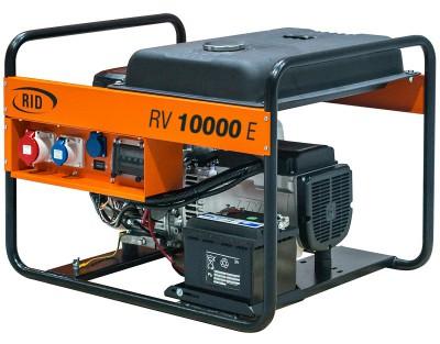 Бензиновый генератор RID RV 10000 E с АВР