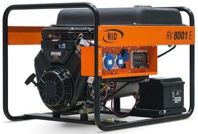 Бензиновый генератор RID RV 8001 E