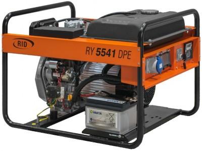 Дизельный генератор RID RY 5541 DPE с АВР
