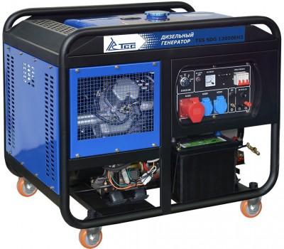 Дизельный генератор ТСС SDG 12000EH3 с АВР