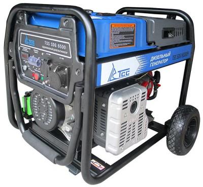 Дизельный генератор ТСС SDG 6500 EH с АВР