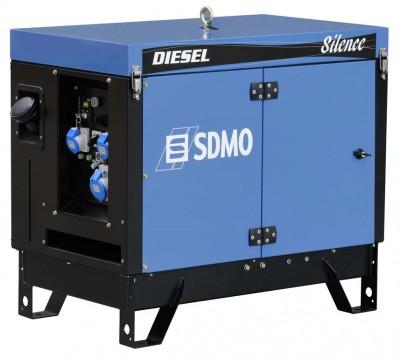 Дизельный генератор SDMO DIESEL 15000 TE SILENCE с АВР