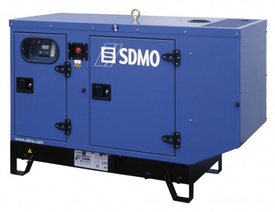Дизельный генератор SDMO T 17KM в кожухе с АВР