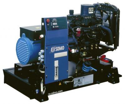 Дизельный генератор SDMO T 12KM с АВР