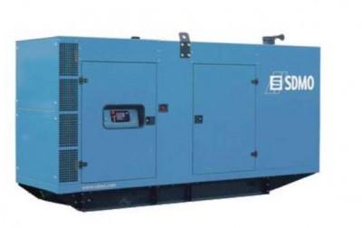 Дизельный генератор SDMO V275C2 в кожухе
