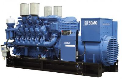 Дизельный генератор SDMO X1540C с АВР