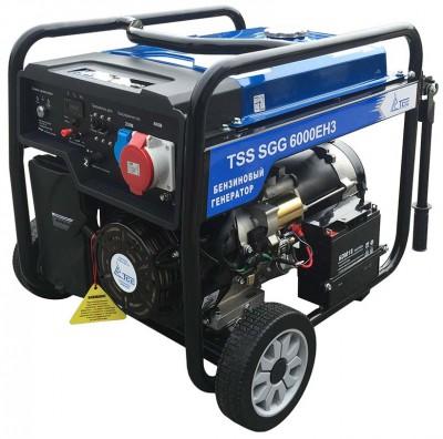 Бензиновый генератор ТСС SGG 6000 EH3