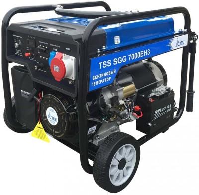 Бензиновый генератор ТСС SGG 7000 EH3 (новая модель)