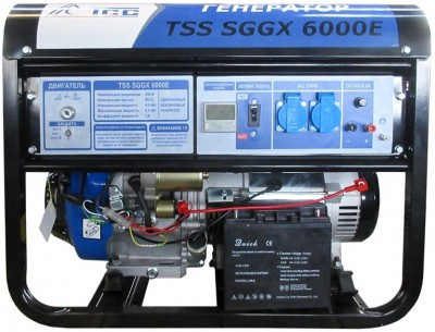 Бензиновый генератор ТСС SGGX 6000E с АВР